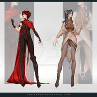 (CLOSED) Adoptable Outfit Auction 274-275