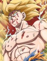 Son Goku SSJ by AR-UA