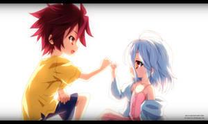 No Game No Life: Sora and Shiro