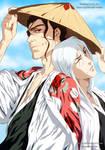 Collaboration Bleach: Kyoraku and Ukitake