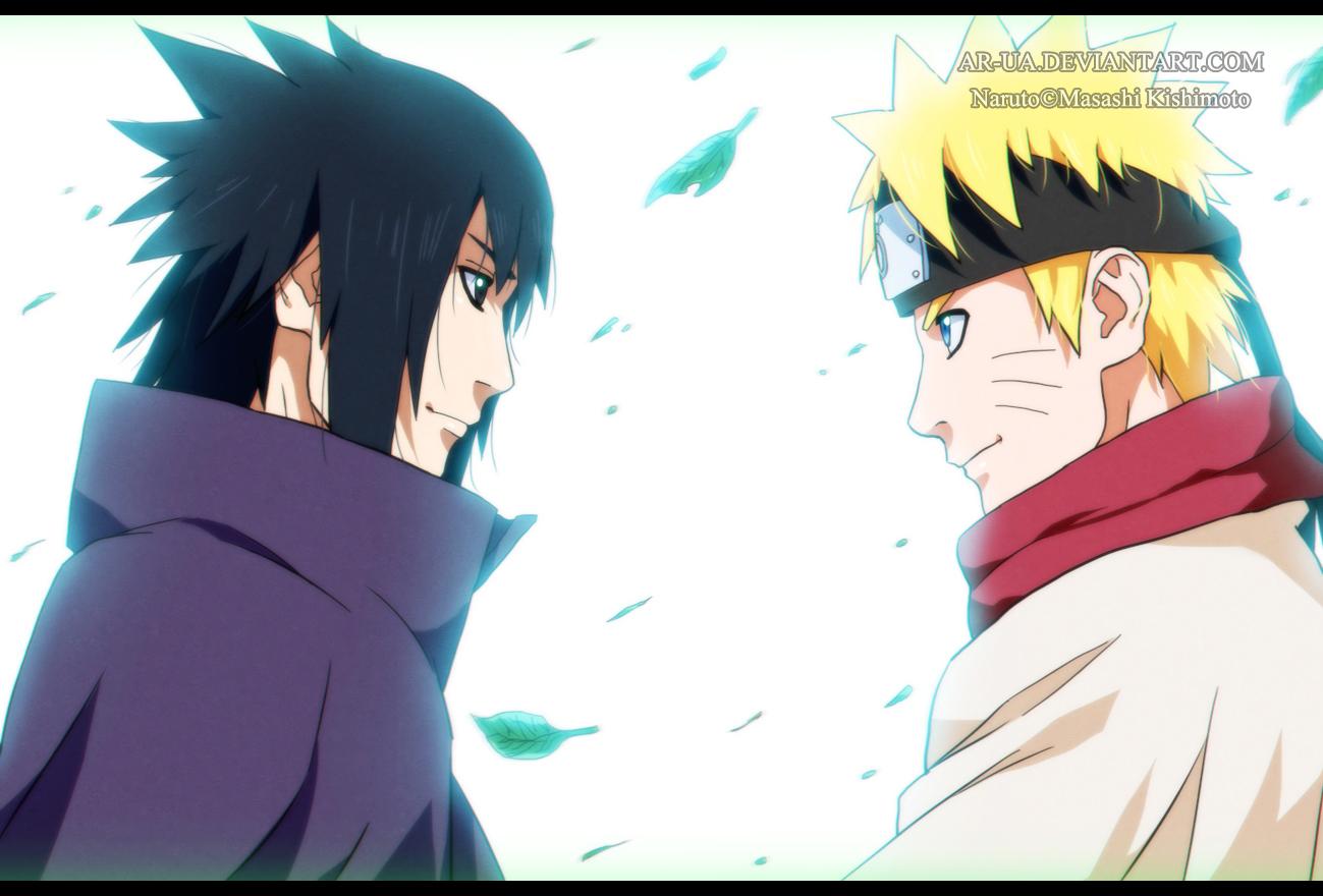 Naruto 699 Sasuke And Naruto By Ar Ua On Deviantart