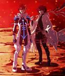 UQ Holder 65: Negi and Nagi