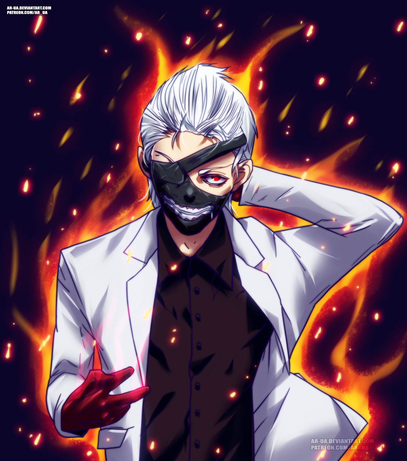 Tokyo Ghoul:re 105: King[Goat] By AR-UA On DeviantArt