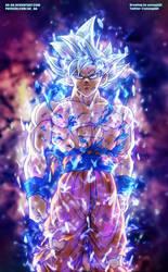 Dragon Ball Super: Goku Ultra Instinct by AR-UA