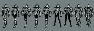 June 6 2016, SciFi Armor Conceptual Progress