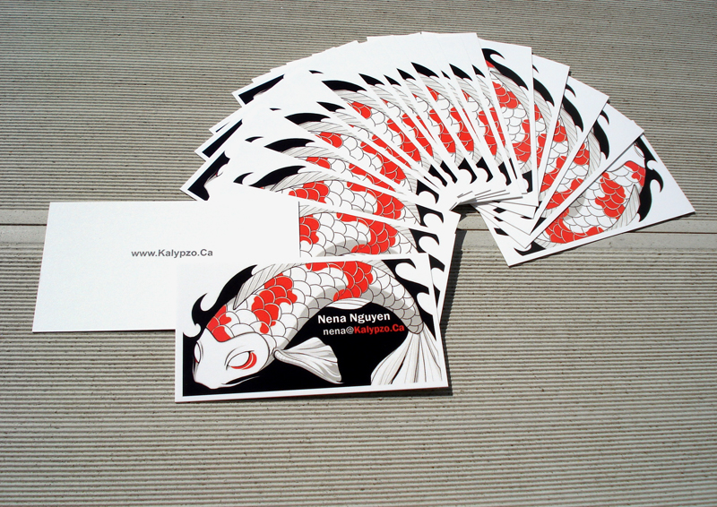Business Cards In by nedashi