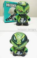 Jungle Snake Munny by nedashi