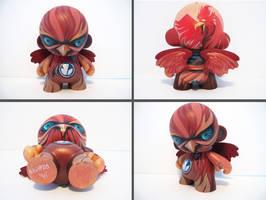 Bionic Phoenix Munny by nedashi