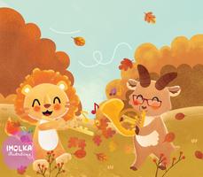 Autumn Melodies [Commission Art ]