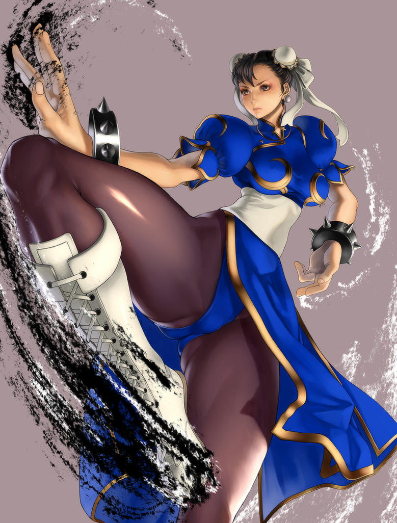 Street Fighter Chun-Li by kazakami
