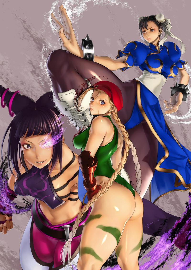 SUPER STREET FIGHTER IV by kazakami