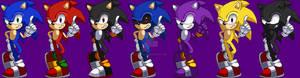 Sonic Altern Skins Pixelart SSF2