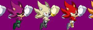 Super Sonic Pixelart SSF2 + Costumes
