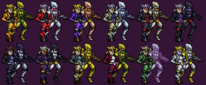 DIO and The World JUS Resprite