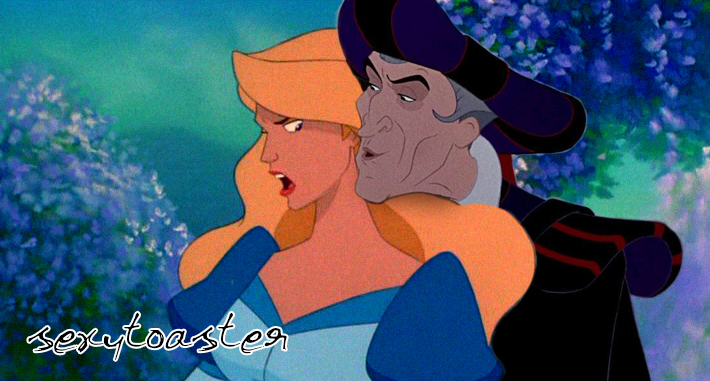 Frollo X Odette by sexytoaster