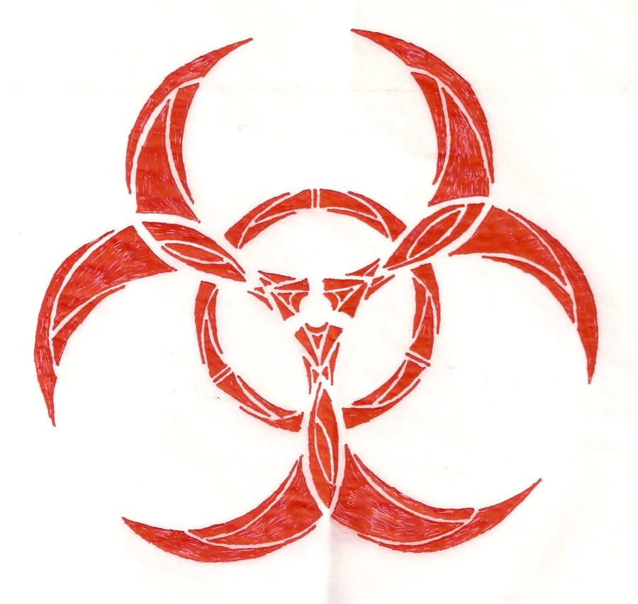 biohazard tattoo by mudis37 on deviantart. Black Bedroom Furniture Sets. Home Design Ideas