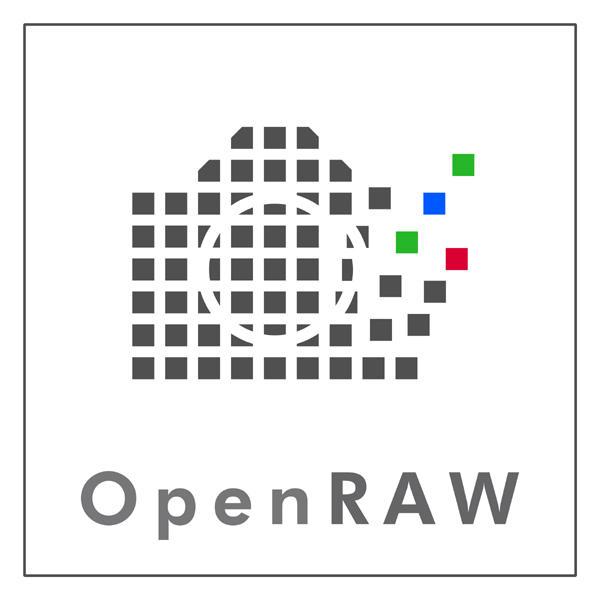 OpenRAW Logo by mehrzweckraum
