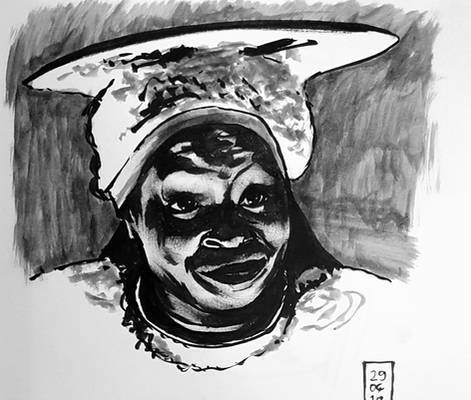 daily ink #18 Guinan