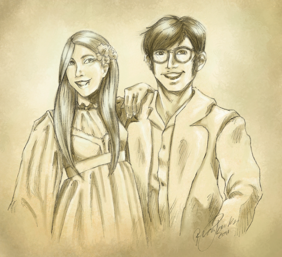Lily and james potter by klork on deviantart