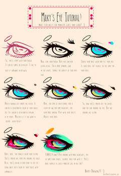 Eye tutorial: Monster and Guro.