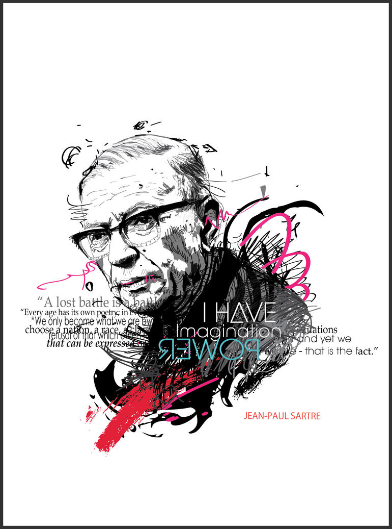 """a critique of jean paul sartres philosophy on existence Jean paul sartre's existential philosophy posits that is in man, and in man alone, that existence precedes essence simply put, sartre means that man is first, and only subsequently to his """"isness"""" does he become this or that."""