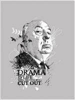 Alfred Hitchcock by Yellowcardas