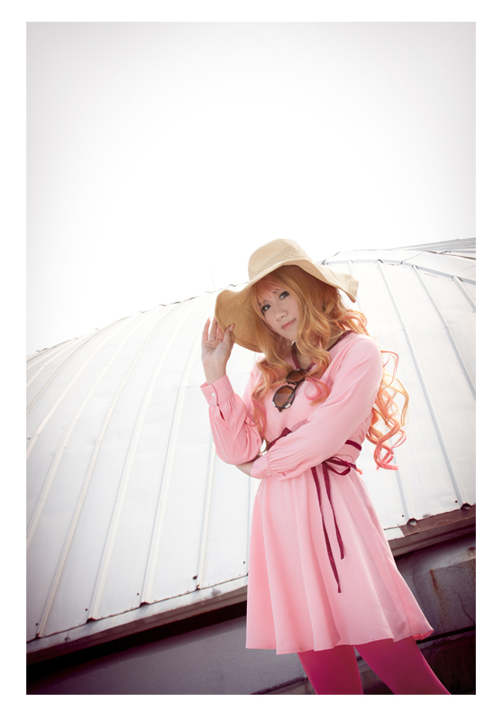 Sheryl Nome_Pink by vicissiJuice