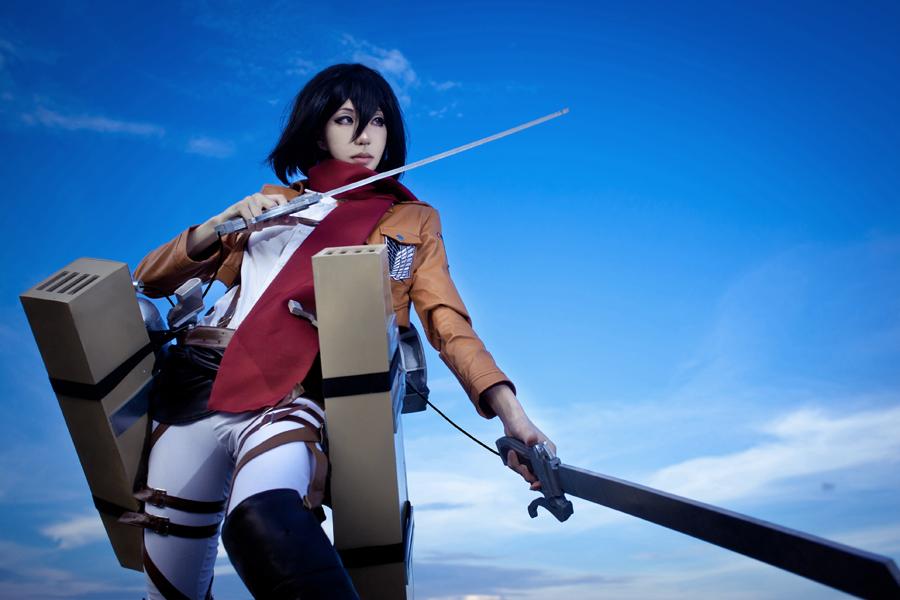 Mikasa Ackerman by vicissiJuice