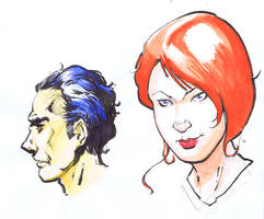 Color Sketch by aminamat