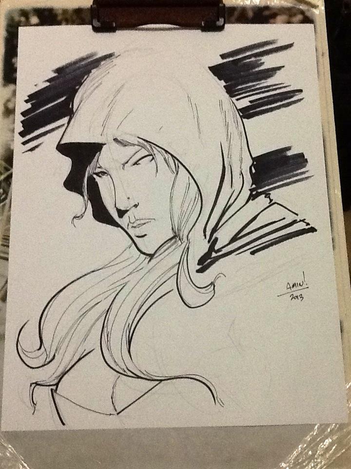 FCBD Sketch: Robyn Hood (Zenescope) by aminamat