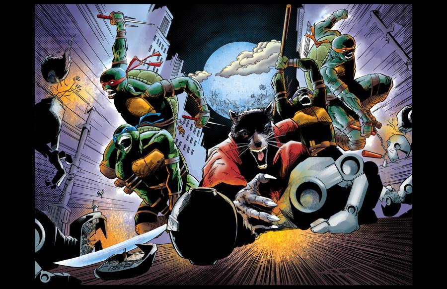 Teenage Mutant Ninja Turtles!!! IN COLOR!! by aminamat