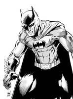 Batman Day Sketch Numero Dos by aminamat