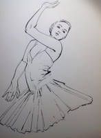 Dance Ink Study by aminamat