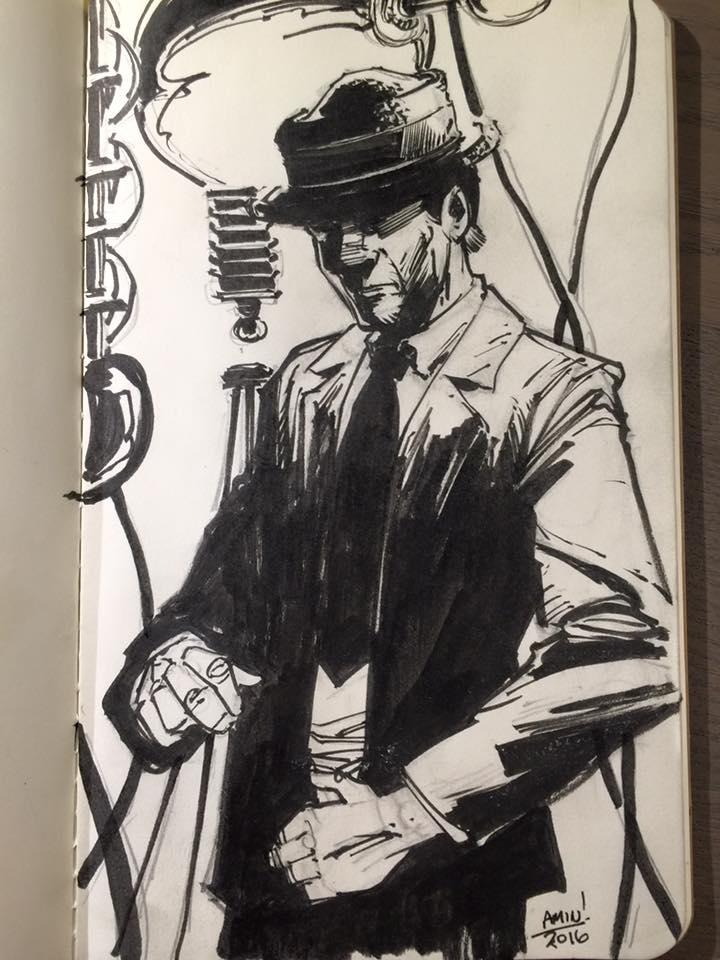 Kolchak Night Sketch by aminamat