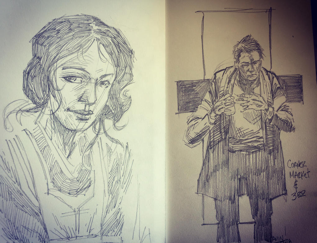 Double drawing by aminamat