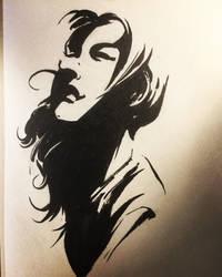 Woman. Profile. by aminamat