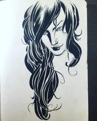 Hair study. by aminamat