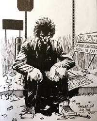 Homeless Man. Vancouver WA by aminamat