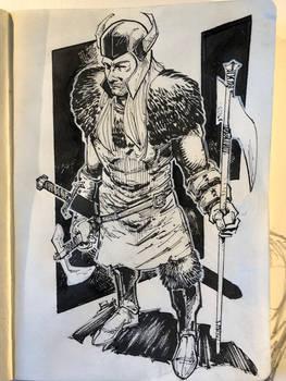 Medieval Soldier Concept