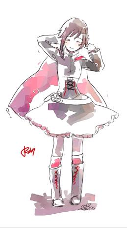 RUBY-RWBY by Ricemo