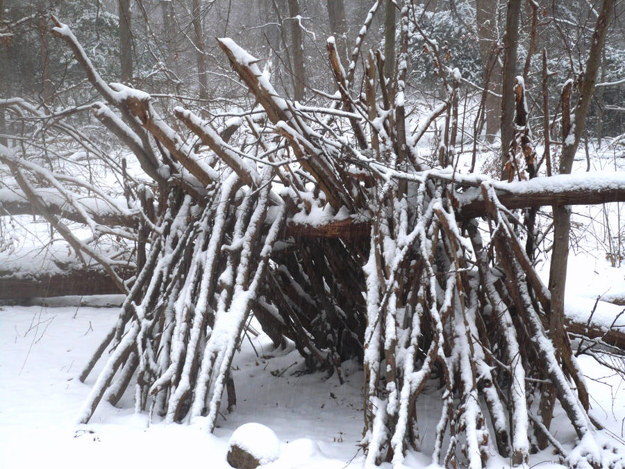 The hut of Cailleach Bheur