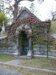 Ivy Mausoleum- Sleepy Hollow
