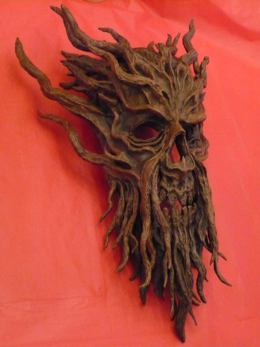 The Mask of the Dark Druid by SylvanSmith