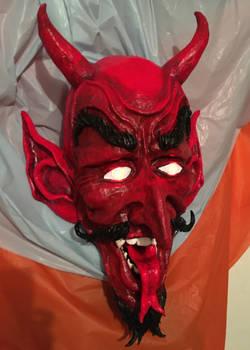 The Devils fiery gaze