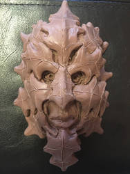 The Greenman Holly Sculpture