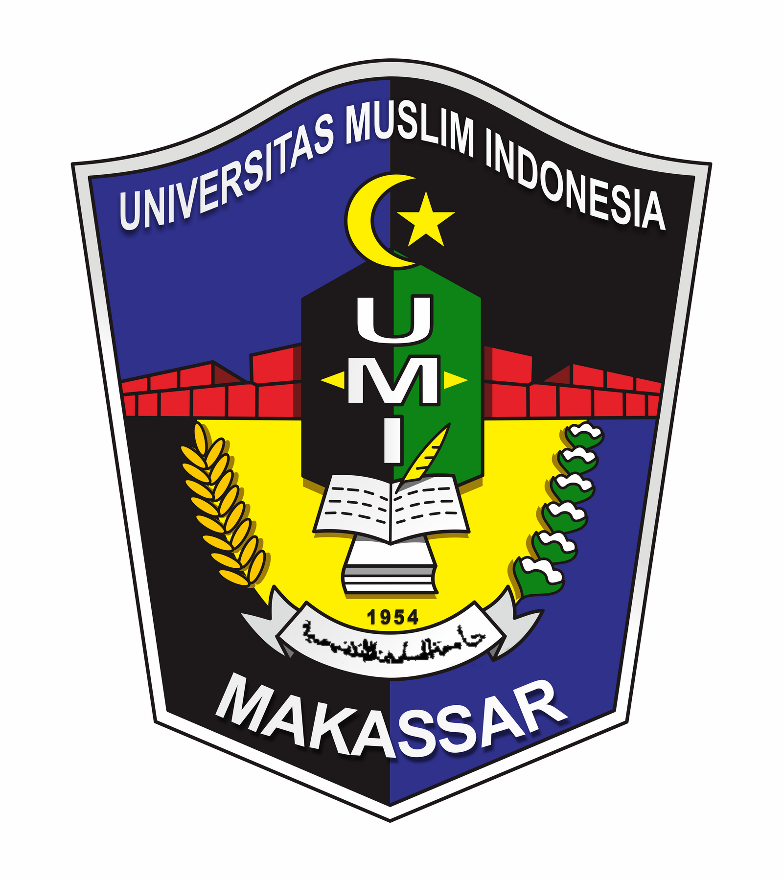 Makassar Indonesia  city images : Universitas Muslim Indonesia Makassar Logo by JessaSyahrul on ...