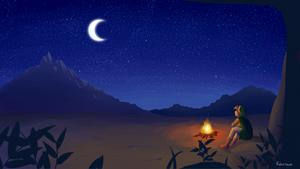 ZM17 - By the Campfire by Krustalos