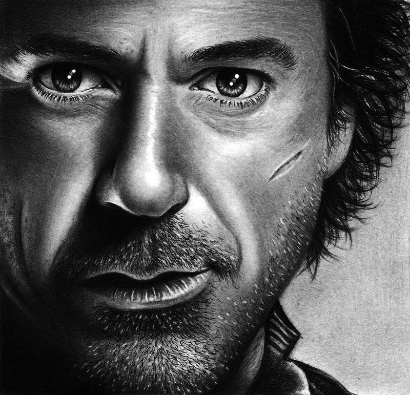 Sherlock Holmes - Robert Downey Jr by HarryMichael