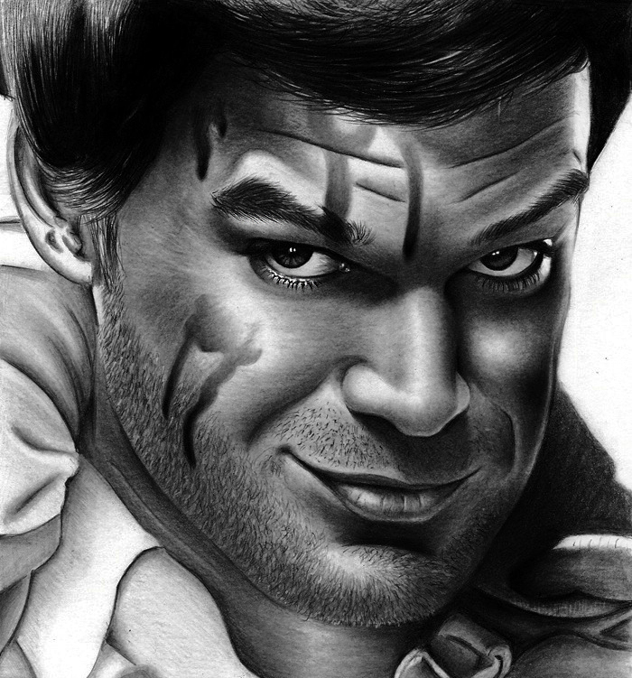 Dexter Morgan - Michael C. Hall 3 by HarryMichael