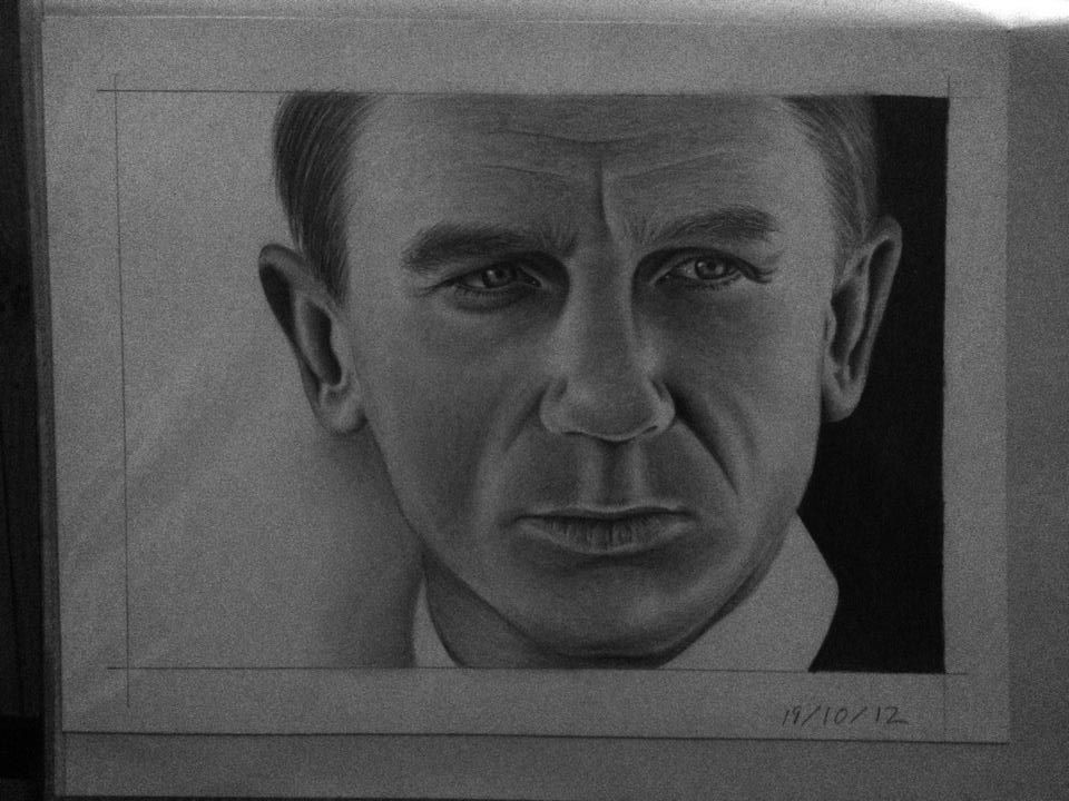 Daniel Craig - 007 by HarryMichael